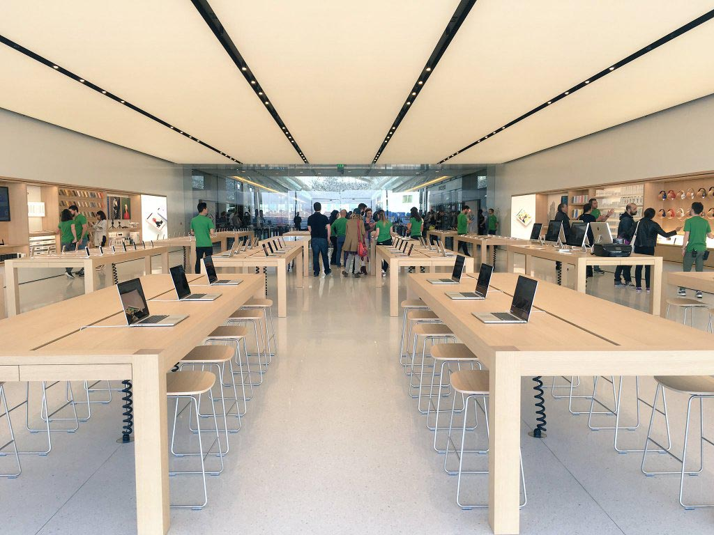 Apple store em Marselha