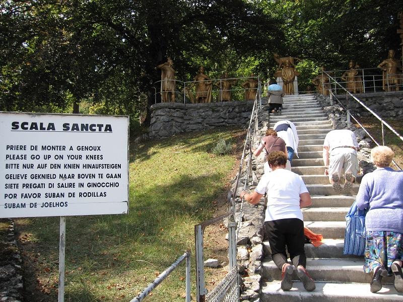 Escada santa