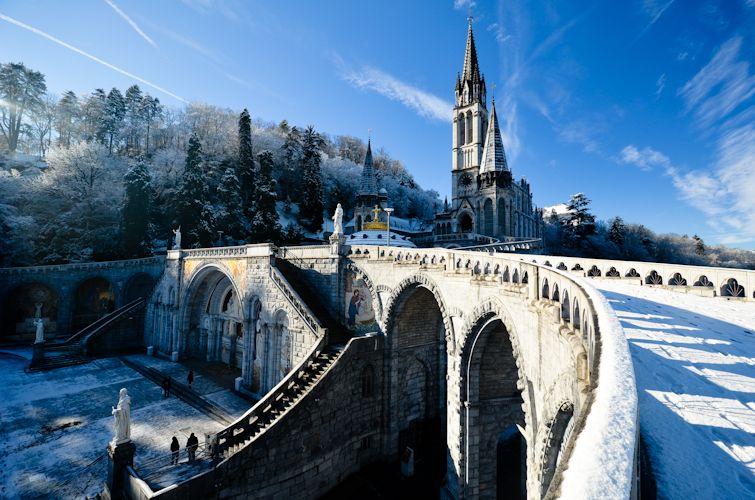 Inverno em Lourdes