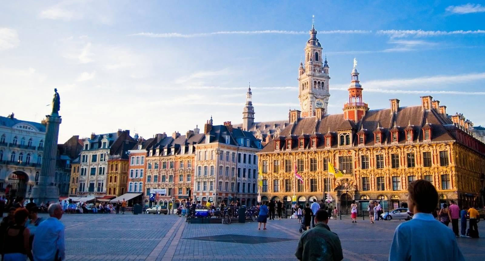 Paisagem de Lille