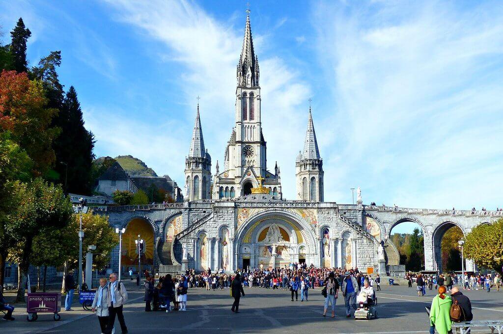 Paisagem de Lourdes