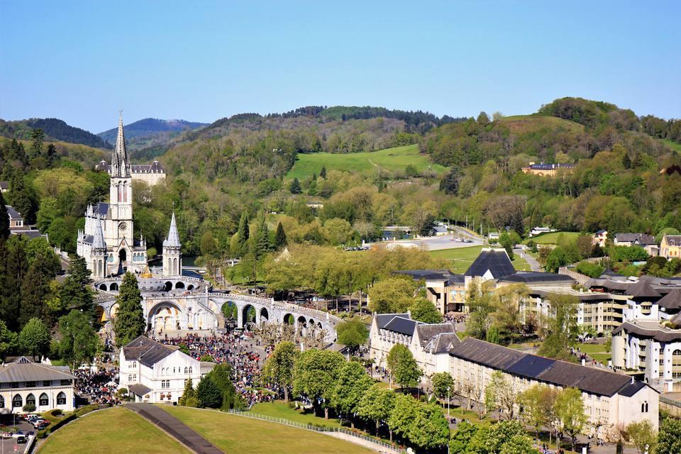 Paisagem em Lourdes