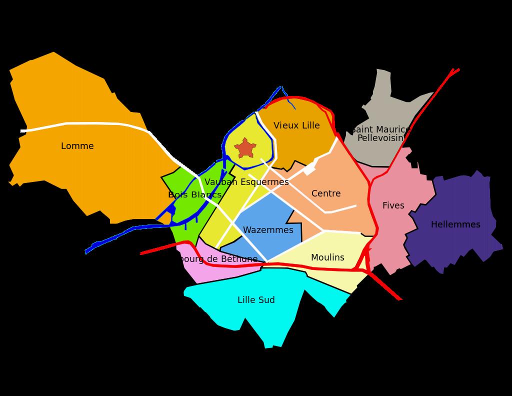Bairros de Lille