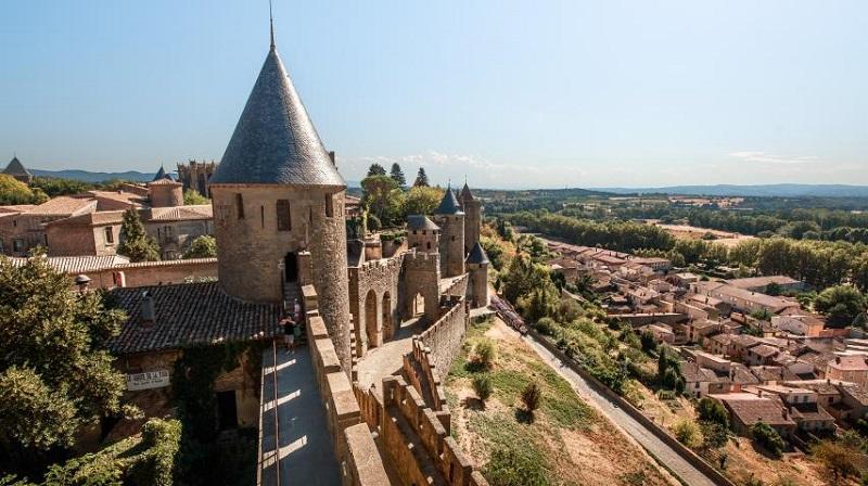 Carcassonne no Verão