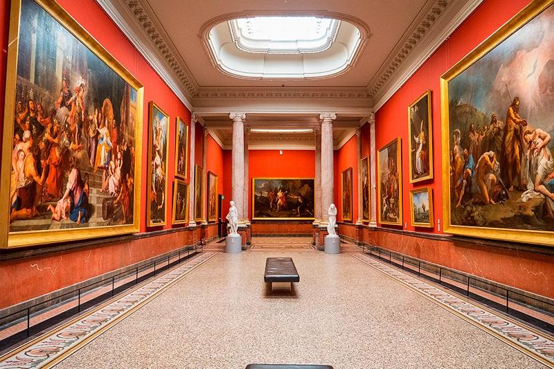 Interior do Museu Fabré