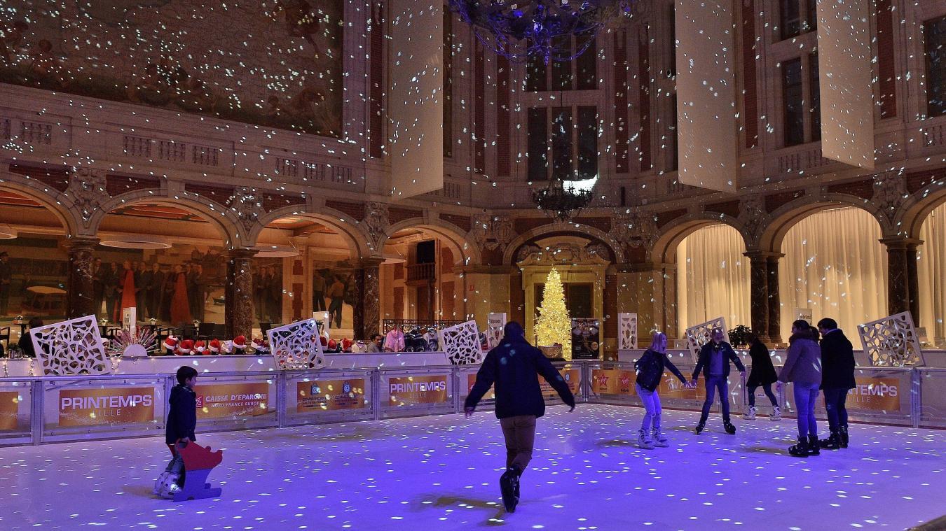 Patinação no gelo em Lille
