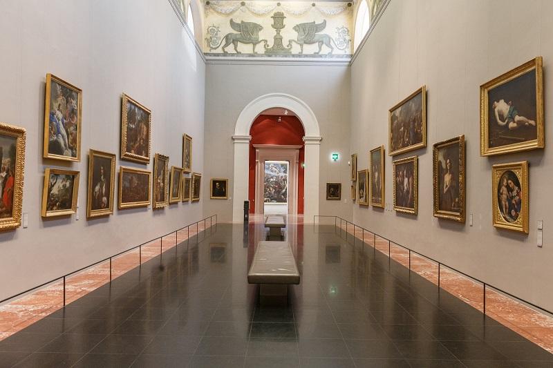 Salle des Griffons no Museu Fabré