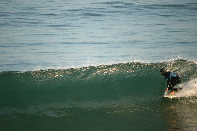 Surf em Hendaye