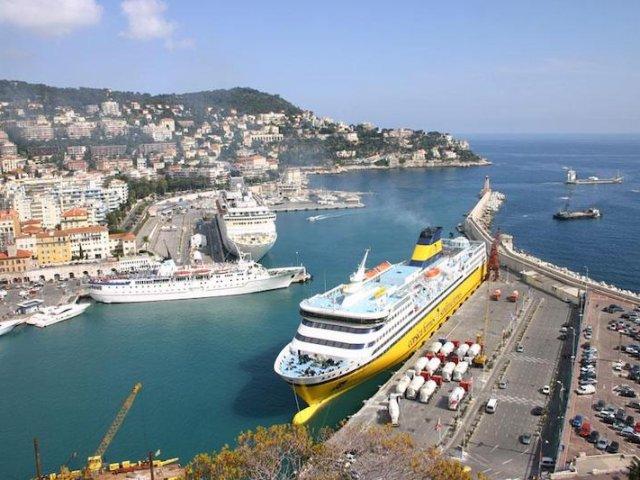 Principais destinos de ferry saindo da França