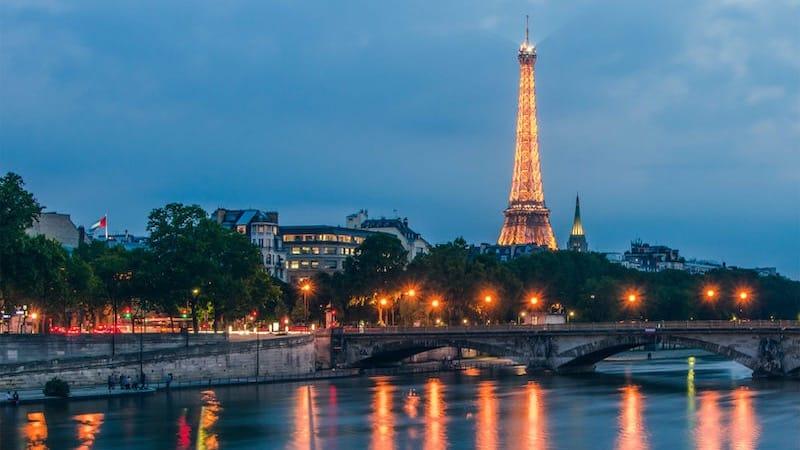 Anoitecer em Paris