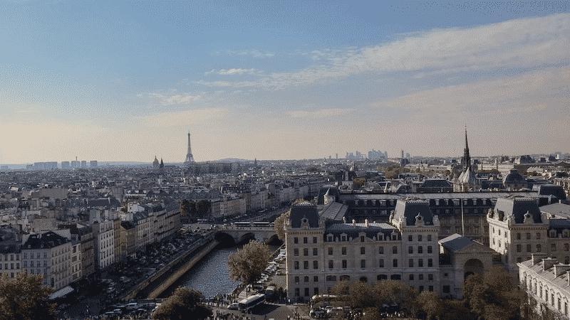 Paisagem da cidade Paris