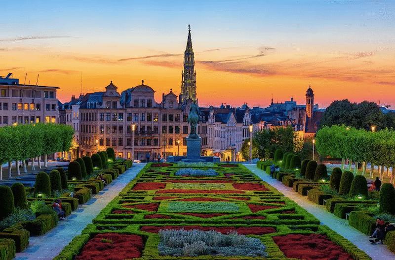 Paisagem de Bruxelas