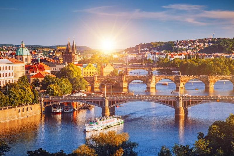 Paisagem de Praga