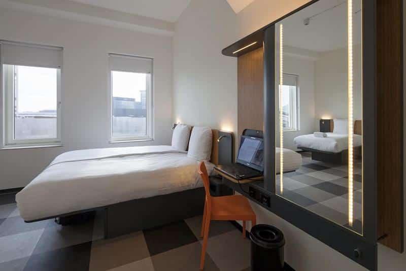 Quarto do Easyhotel Amsterdam Arena Hotel