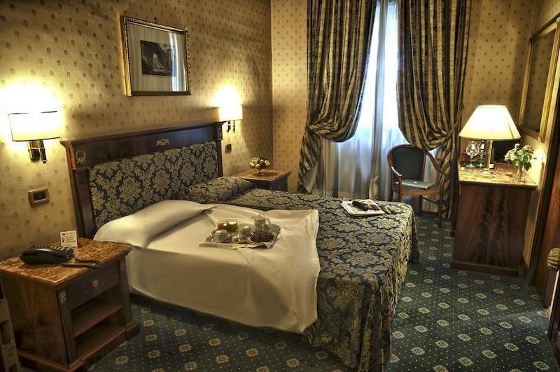 Quarto do Hotel Cilicia em Roma
