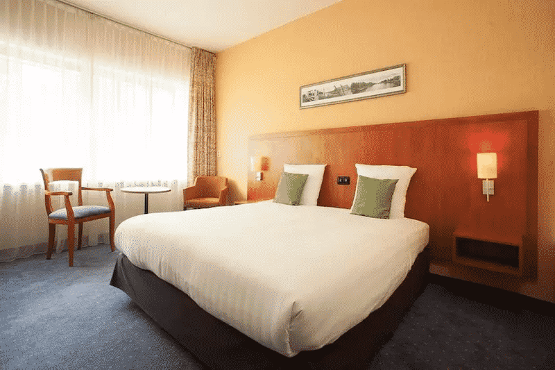 Quarto do New West Inn em Amsterdam
