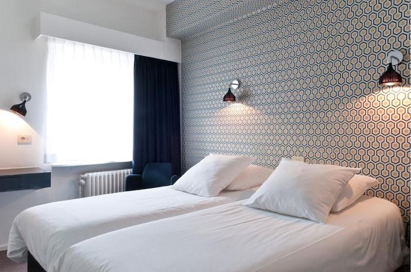 Quarto do Hotel Queen Anne em Bruxelas