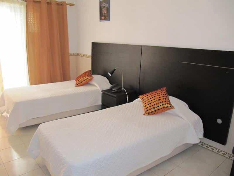 Quarto do hotel Residencial Mozambique em Lisboa