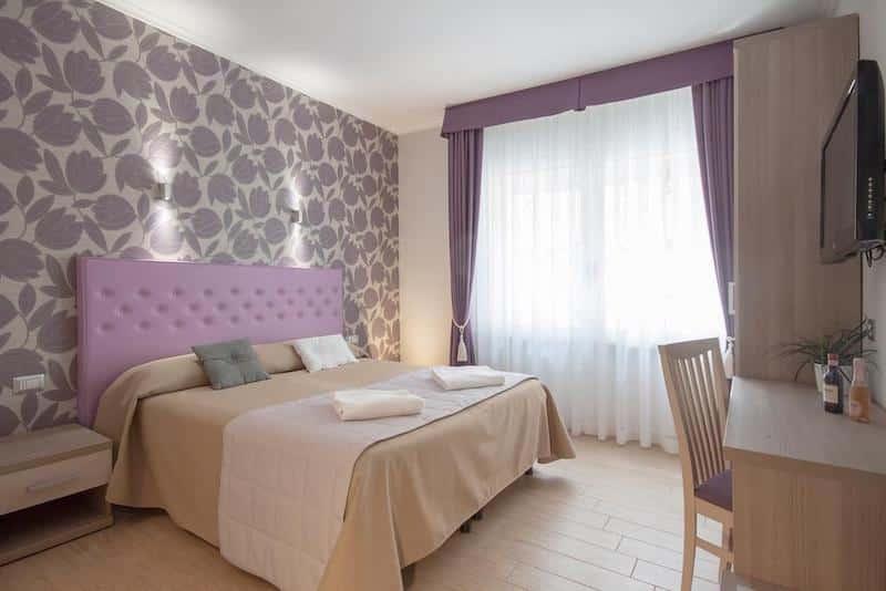 Quarto do hotel Rome Kings Suite em Roma