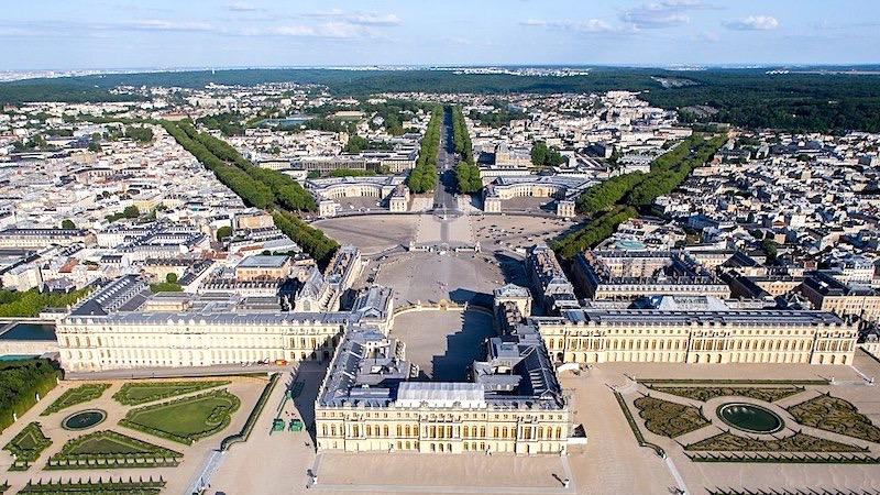 Cidade de Versalhes na França