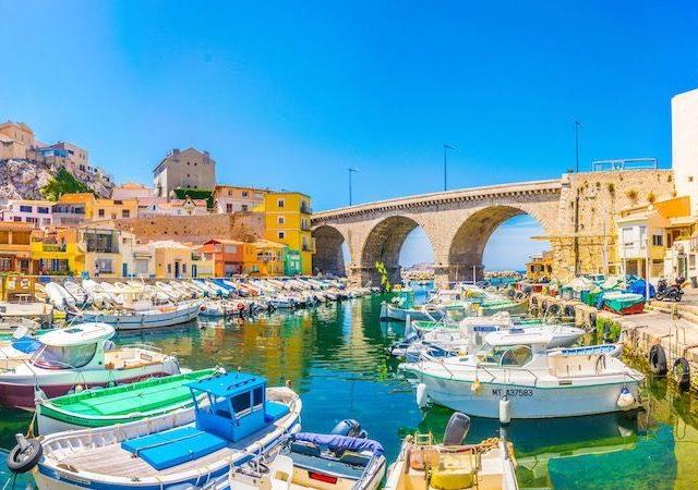 Meses de alta e baixa temporada em Marselha