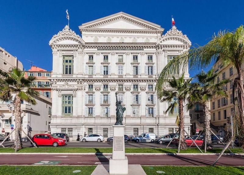 Fachada da Ópera de Nice