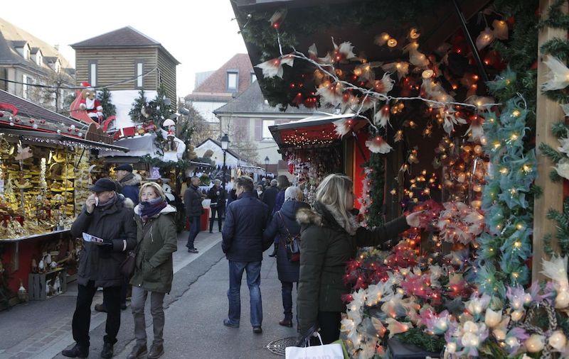 Mercado de Natal em Versalhes