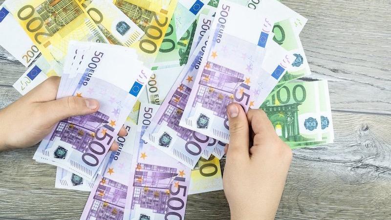 Contando euros na França
