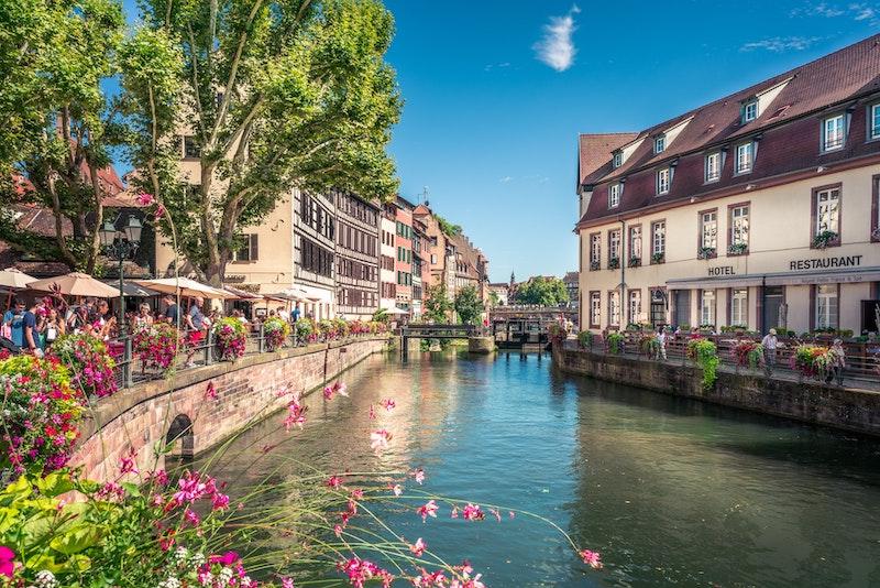 Paisagem em Estrasburgo