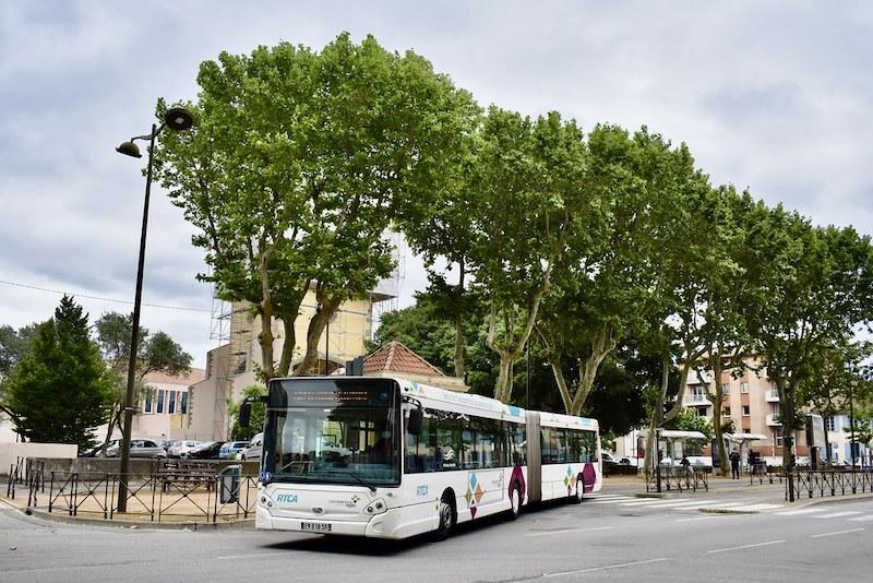 Ônibus em Carcassonne