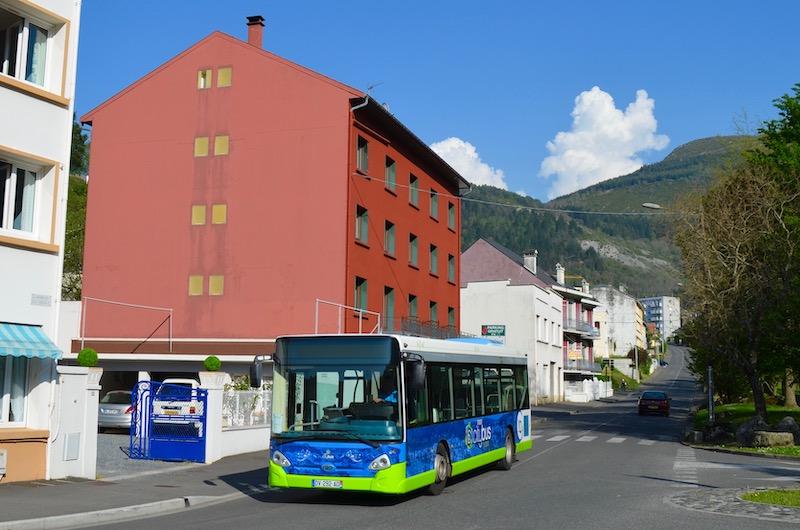 Ônibus em Lourdes