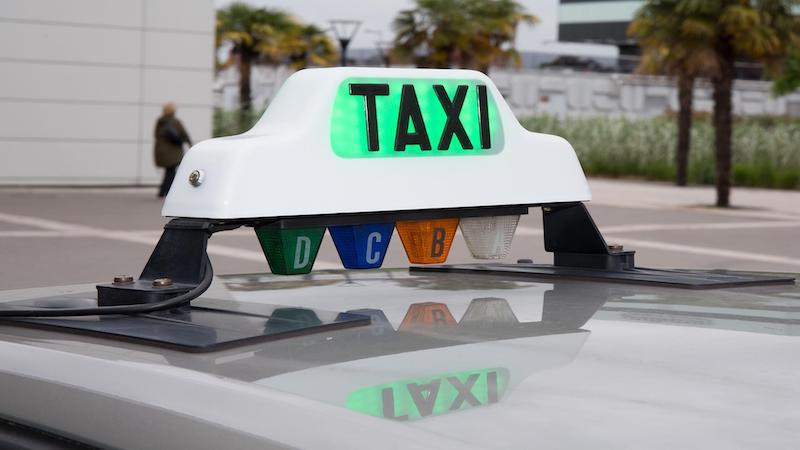 Táxi em Lourdes