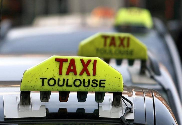 Táxi em Toulouse